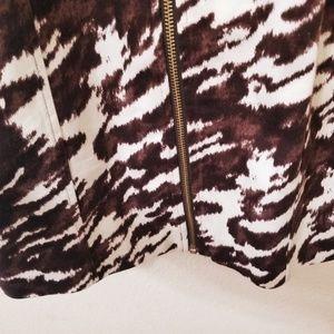 MICHAEL Michael Kors Dresses - MK Exotic Animal Print Cocktail Dress Keyhole 6